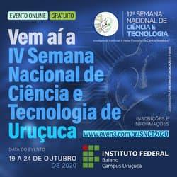 IV SEMANA NACIONAL DE CIÊNCIA E TECNOLOGIA DE URUÇUCA