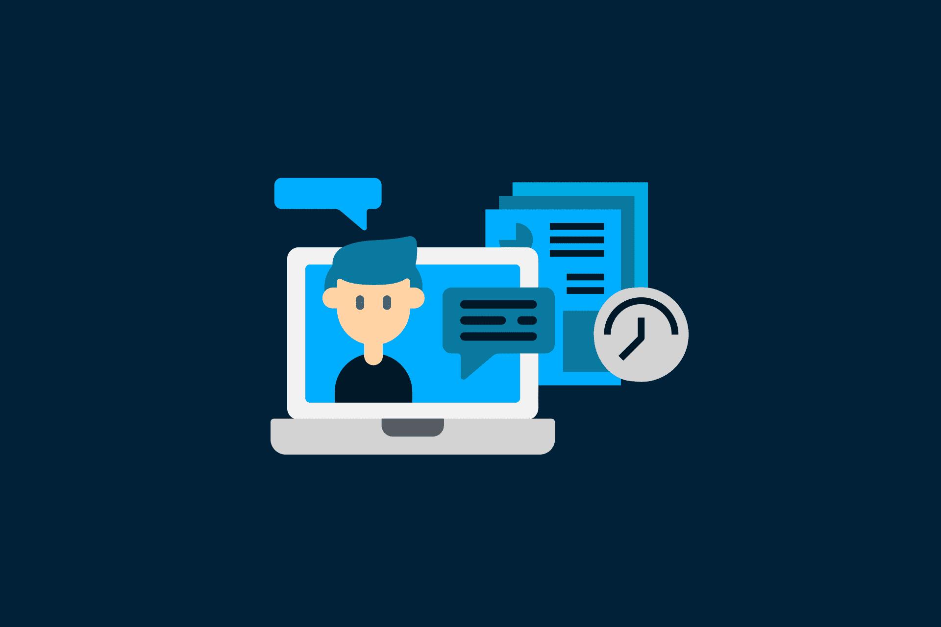 Como organizar a apresentação de trabalhos online?