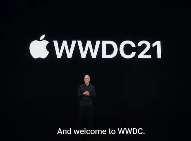 Vídeo legendado do WWDC 2021