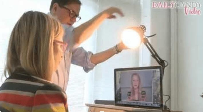Exemplo correto de como utilizar a iluminação a seu favor em uma live