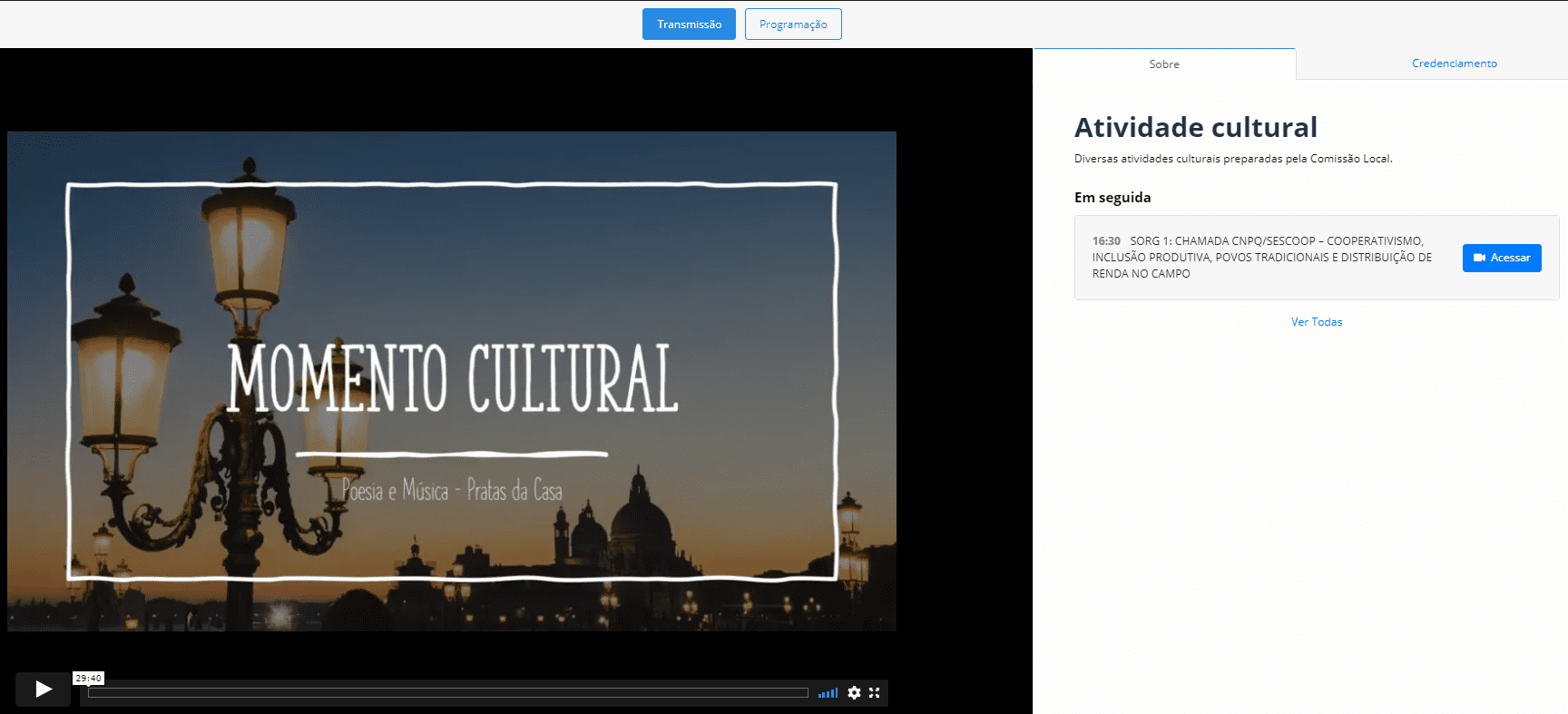 Atividade cultural